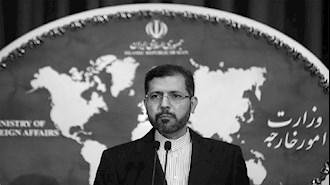 خطیبزاده، سخنگوی وزارتخارجهٔ آخوندی