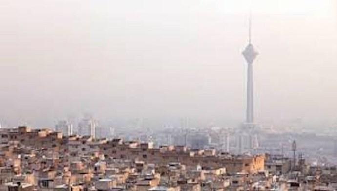 هشدار نارنجی برای هوای آلوده تهران