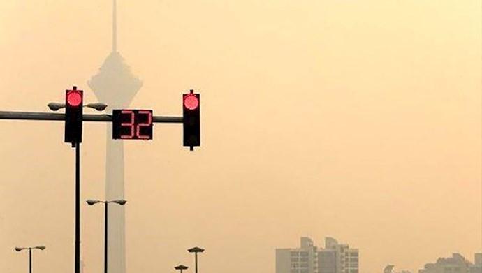 هوای تهران قرمز شد