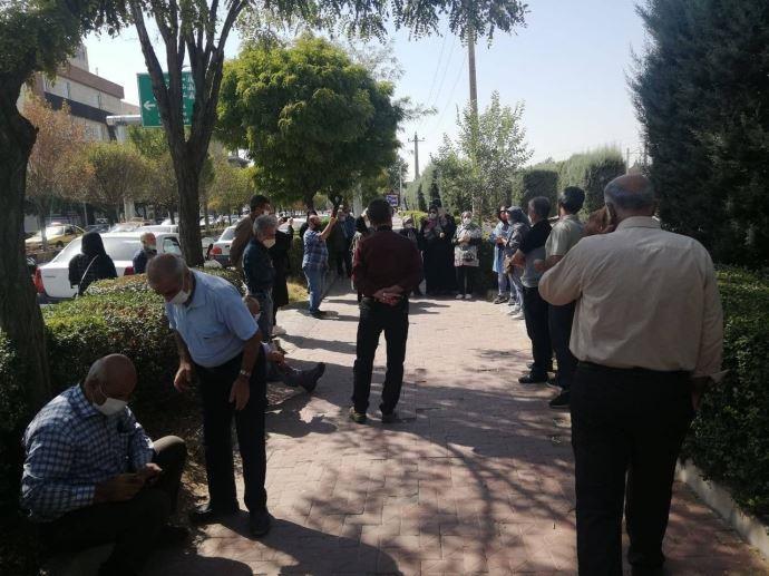 -تجمع بازنشستگان و مستمریبگیران تأمین اجتماعی قزوین