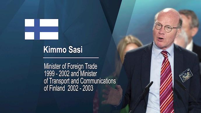 کیمو ساسی وزیر و نماینده پییشین از فنلاند