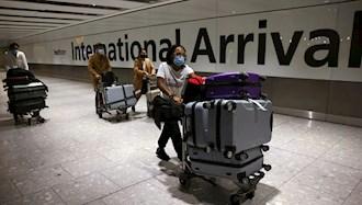 قرنطینه مسافران در ورود به انگلستان