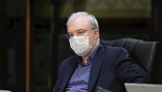نمکی وزیر بهداشت رژیم