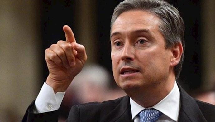 وزیر خارجه کانادا