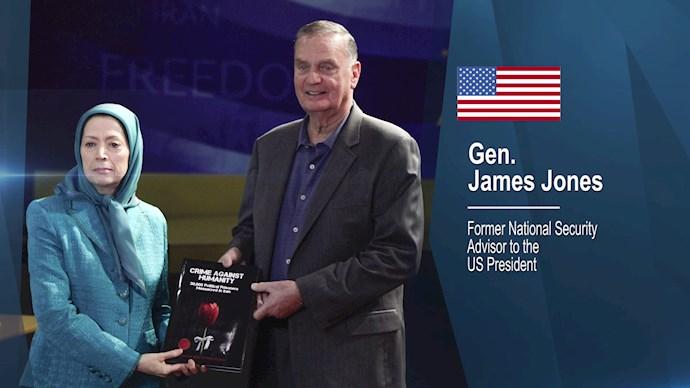 ژنرال جیمز جونز نخستین مشاور امنیت ملی رئیسجمهور اوباما