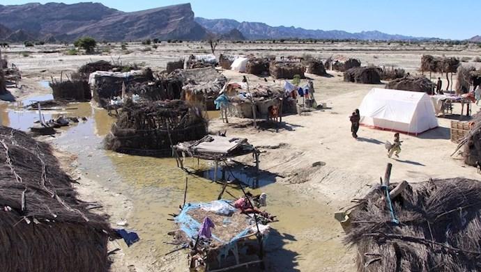روستاهای کپری سیستان و بلوچستان