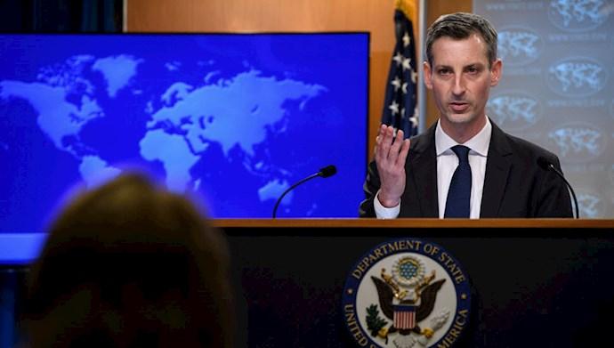 ند پرایس سخنگوی وزارت امور خارجه آمریکا