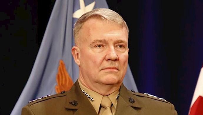 ژنرال کنت مک کنزی فرمانده نیروهای مرکزی آمریکایی–سنتکام