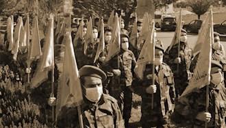 شبه نظامیان وابسته به  رژیم ایران در منطقه