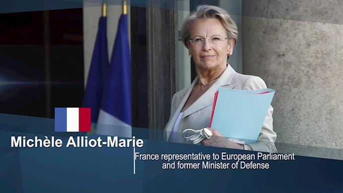 میشل آلیوماری وزیر ارشد دولت فرانسه (۲۰۱۱)