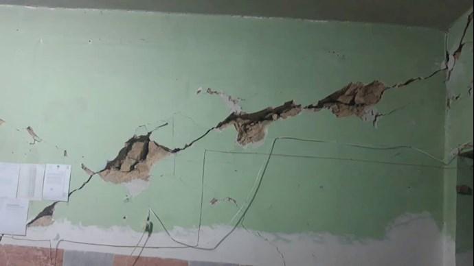 آثار زلزله در سی سخت