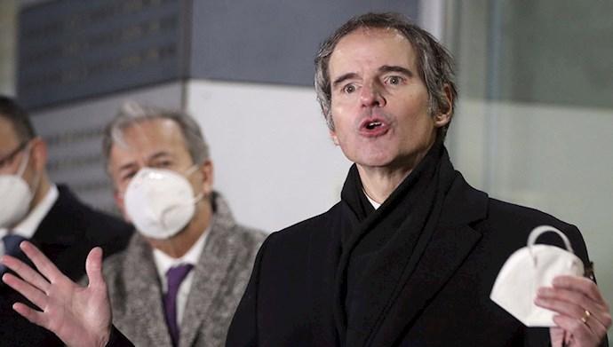 کنفرانس مطبوعاتی رافائل گروسی دبیرکل آژانس انرژی اتمی در وین - سوم اسفند۹۹