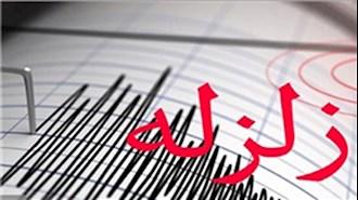 وقوع زلزله در قصر شیرین