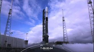 یک گروه جدید از ماهوارههای اینترنت فضایی استارلینک را به مدار زمین فرستاده شد