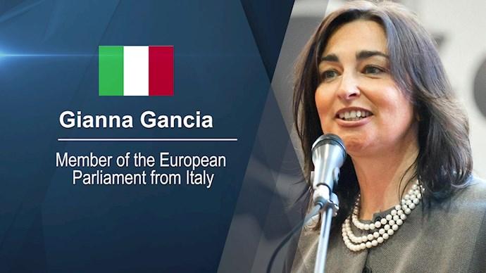 جانا گانجا نماینده پا رلمان اروپا از ایتالیا