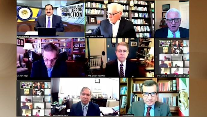 کنفرانس آنلاین با حضور شخصیتهای آمریکایی