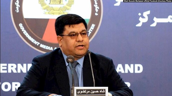 شاه حسین مرتضوی مشاور رئیسجمهوری افغانستان