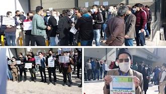 تجمع غارتشدگان پدیده در مشهد