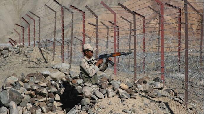 تصویری از مناطق مرزی سیستان و بلوچستان