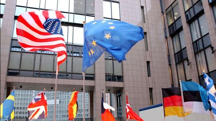 همسویی اروپا با آمریکا
