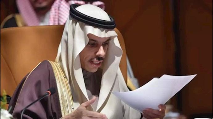 فیصل بن فرحان وزیر امور خارجه عربستان سعودی