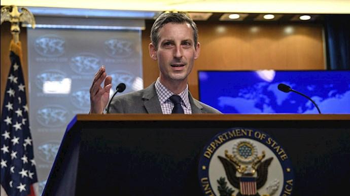 ند پرایس سخنگوی وزارت خارجه آمریکا