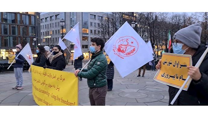 حمایت یاران شورشگر از قیام مردم دلیر سیستان و بلوچستان و محکومیت کشتار سوختبران