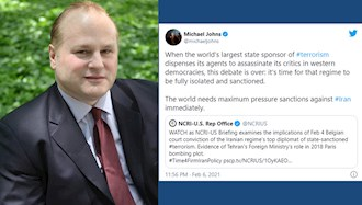 توئیت مایکل جانز درباره فشار حداکثری به رژیم ایران