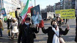 جشن و شادمانی هموطنان ایرانی بعد از صدور حکم دادگاه بلژیک - ۱۷بهمن۹۹
