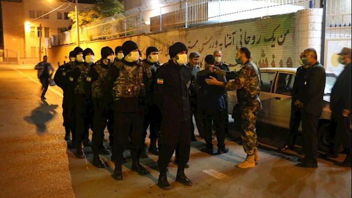 تشدید سرکوب در جامعه ایران