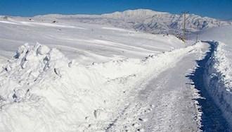 برف و سرما در ۱۹ استان