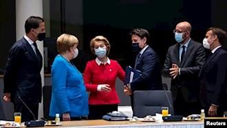 نگرانی رهبران اتحادیهٔ اروپا از سومین موج کرونا در این قاره