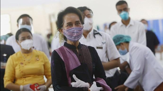 بازداشت آنگ سان سوچی در میانمار توسط ارتش این  کشور