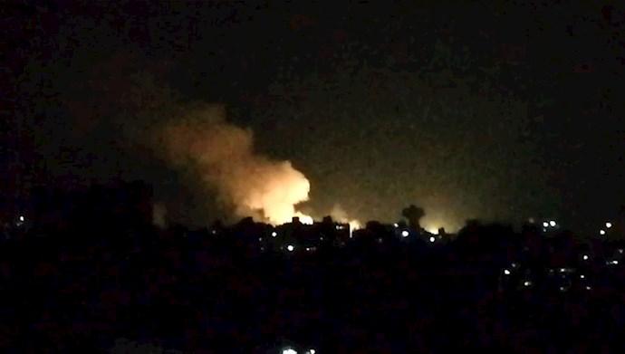 انفجار در پایگاههای رژیم ایران در سوریه - عکس از آرشیو