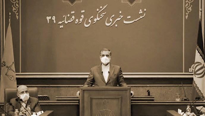 اسماعیلی سخنگوی قوه قضاییه خامنهای