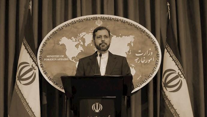 خطیبزاده سخنگوی وزارت خارجه رژیم