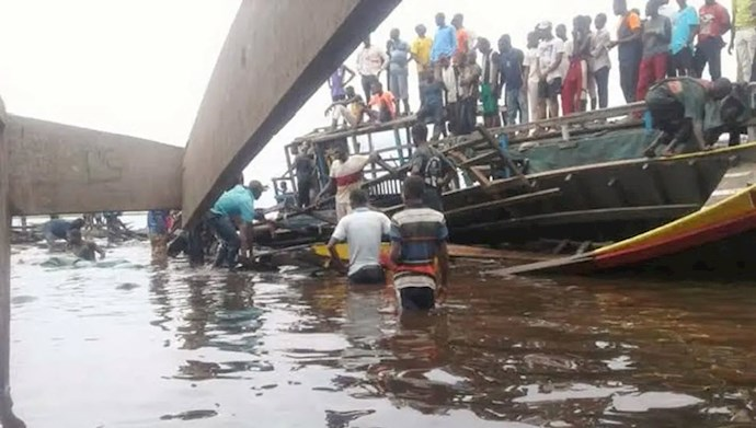 حداقل ۶۰کشته در پی غرق شدن یک کشتی در رودخانه کنگو