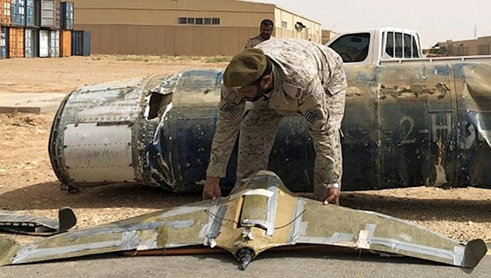 حمله پهپادی حوثیها به عربستان - عکس از آرشیو