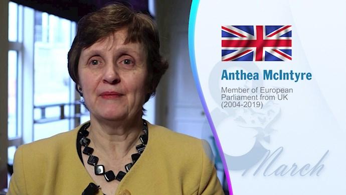 آنیتا مکاینتایر- نایبرئیس پیشین حزب محافظهکار انگلستان