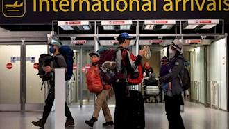 اعمال قوانین قرنطینه بر مسافران انگلستان