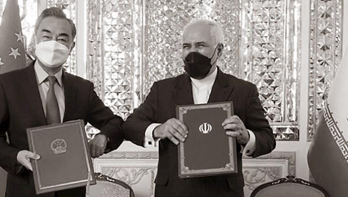 قرارداد ننگین رژیم ایران با چین