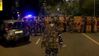 حادثه انفجار بمب در خارج از سفارت اسراییل در دهلینو پایتخت هند