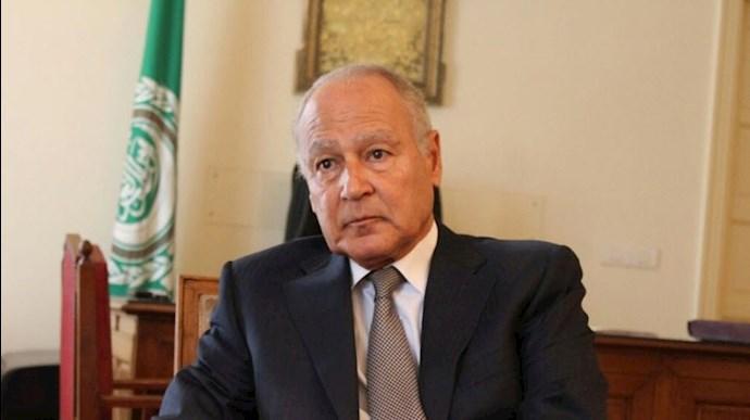احمد ابوالغیط دبیرکل اتحادیه عرب