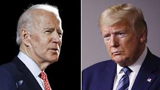 دونالد ترامپ - جو بایدن