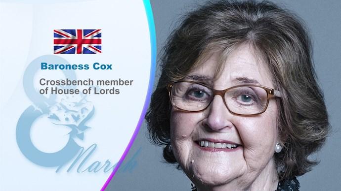 بارونس کاکس - عضو مجلس اعیان انگلستان