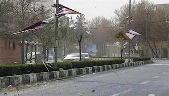 طوفان در شیراز