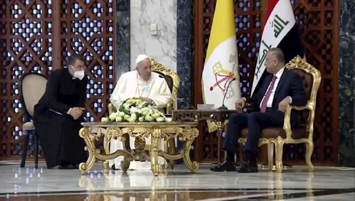 سفر پاب رهبر کاتولیکهای جهان به عراق