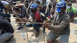 قربانیان اعتراضات میانمار از ۵۰۰تن گذشت