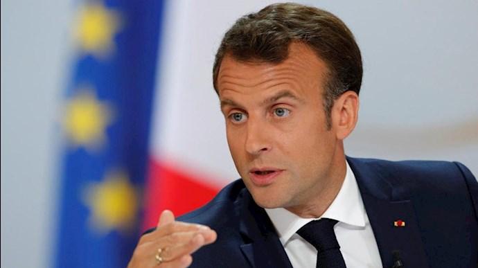 امانوئل مکرون، رییس جمهوری فرانسه