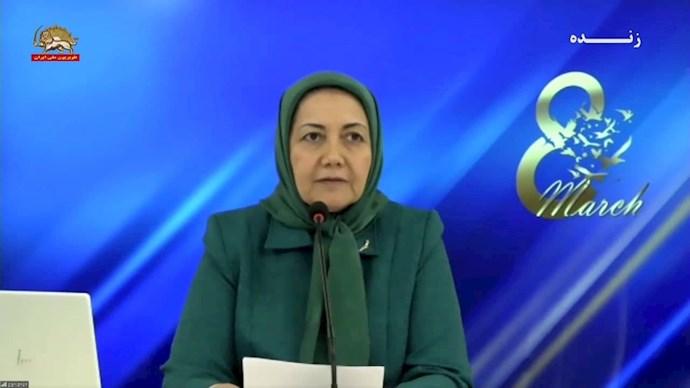 سروناز چیت ساز مسئول کمیسیون زنان شورای ملی مقاومت